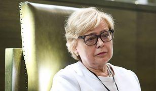 Małgorzata Gersdorf, do niedawna pełniąca funkcję I prezes Sądu Najwyższego, wezwała Unię Europejską do szybszych działań w sporze z polskim rządem