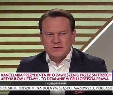 Dominik Tarczyński nie traktuje poważnie decyzji SN