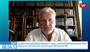 Aleksander Kwaśniewski o Jarosławie Kaczyńskim: byłoby normalne, gdyby został premierem