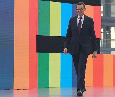 Premier Mateusz Morawiecki (Photo by Artur Widak/NurPhoto via Getty Images)