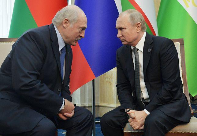 Władimir Putin musi zdecydować ws. Alaksandra Łukaszenki. Rosja wchłonie Białoruś?