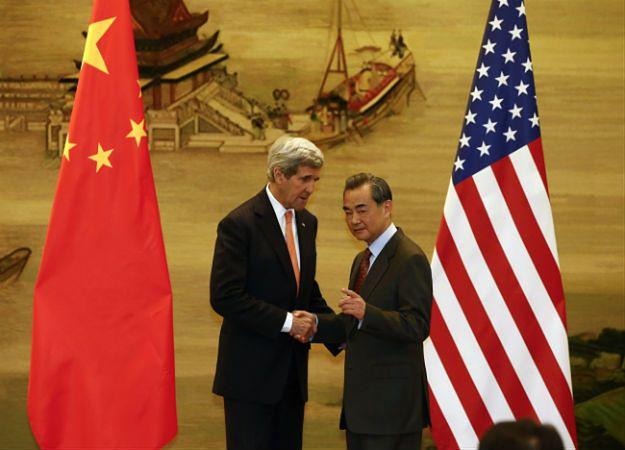 John Kerry spotkał się z chińskim ministrem spraw zagranicznych Wangiem Yi w Pekinie