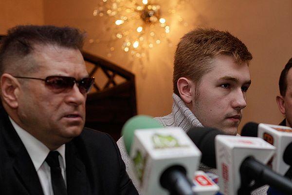 Detektyw Krzysztof Rutkowski i Bartek Waśniewski