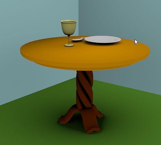 Stolik z ćwiczenia stół