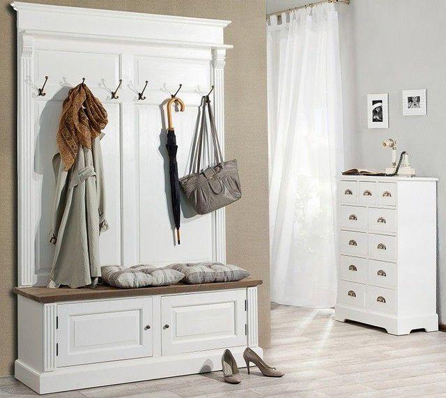 Stylowy przedpokój: garderoba