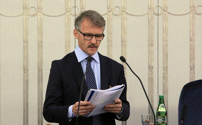 """Leszek Mazur przyjął pogłoski """"z rozczarowaniem"""""""