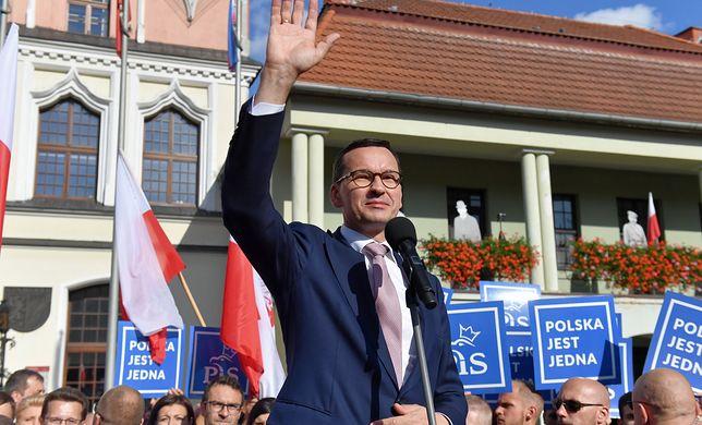 """Mateusz Morawiecki przekonywał, że za rządów PO """"nie było ani dróg, ani mostów"""""""