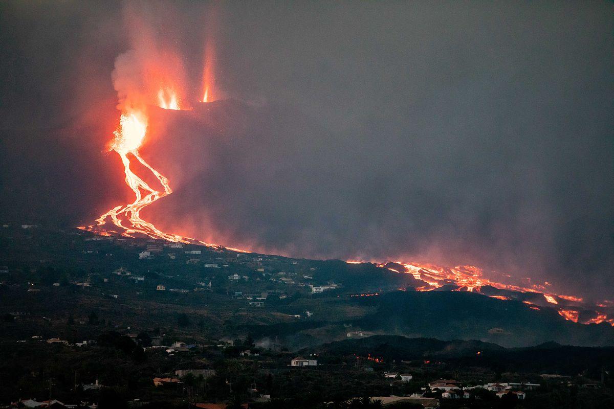 Erupcja wulkanu na wyspie La Palma