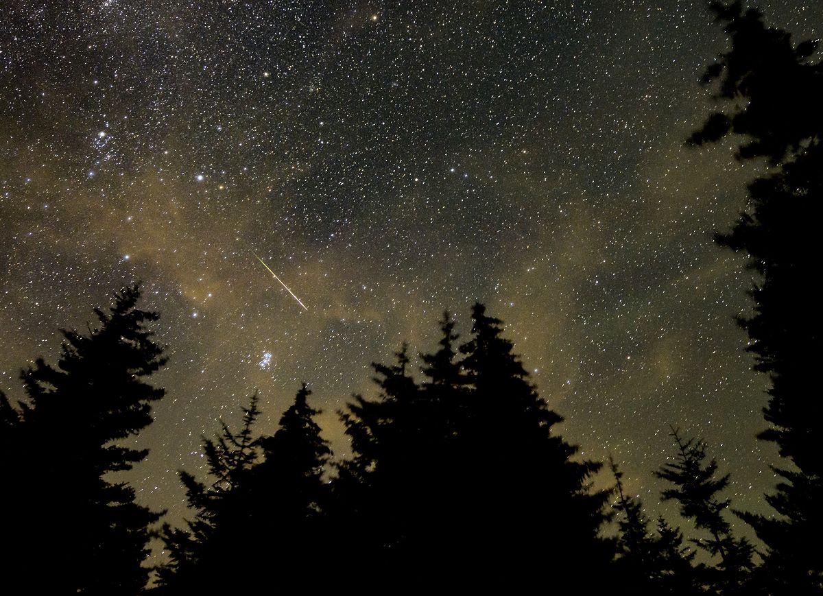 Perseidy 2021. Już niebawem noc spadających gwiazd