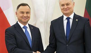 Andrzej Duda i Gitanas Nauseda