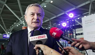 Minister kultury Piotr Gliński skomentował przyznanie Oldze Tokarczuk Nagrody Nobla
