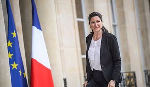 Francja. Była minister zdrowia Agnes Buzyn przed Pałacem Elizejskim (zdj. arch.)