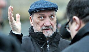 Macierewicz: zarzuty opozycji wobec mnie to hucpa