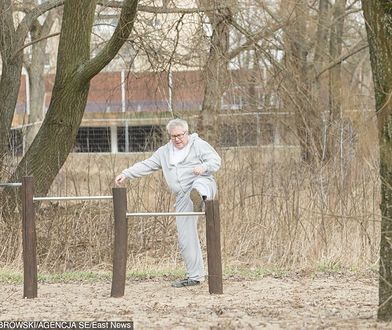 Ryszard Czarnecki w plenerze