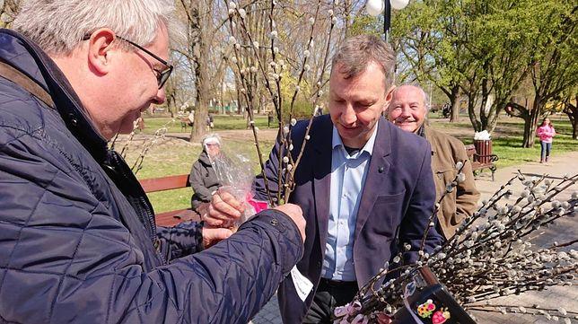 Czarnecki i Halicki złożyli sobie życzenia