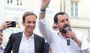 Massimiliano Fedriga i Matteo Salvini