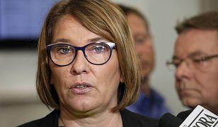 Beata Mazurek o atakach na biuro PiS