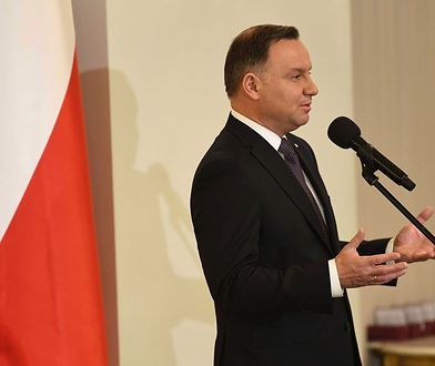 Andrzej Duda kolejny raz zaatakował sędziów