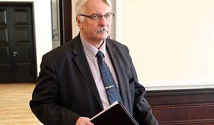 Witold Waszczykowski w latach 2015-2018 był szefem MSZ