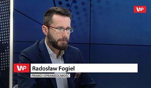 Rzecznik PiS Radosław Fogiel strofuje Witolda Waszczykowskiego. Poszło o komentarz do wpisu Beaty Szydło