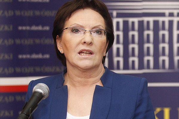 Ewa Kopacz: nie chcę zwalniać górników i zamykać kopalń