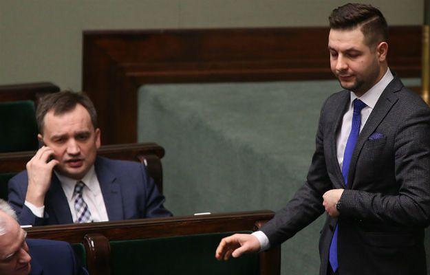 Minister sprawiedliwości Zbigniew Ziobro i wiceminister Patryk Jaki