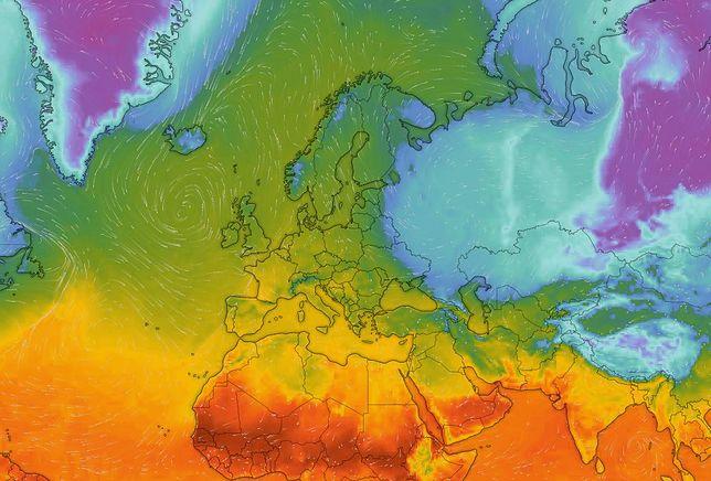 Na wschodzie Europy znów króluje wyż, który nie ma zamiaru ustąpić