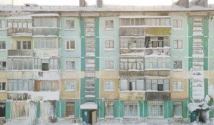 Rosja. Miasta-widma koło Workuty. Wszystko jest tam skute lodem