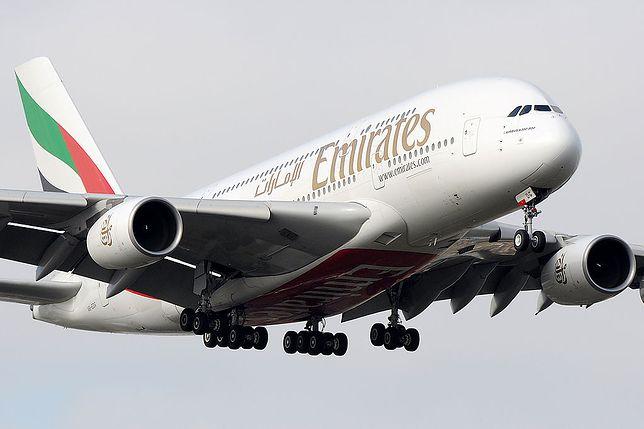 Na trasie z Warszawy do Dubaju airbus A380 może zastąpić boeingi 777-300ER