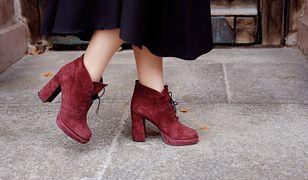Zamszowe buty wyglądają wspaniale, ale wymagają wiele uwagi