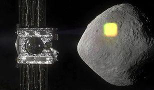 NASA ogłasza sukces. Sonda OSIRIS-REx zabezpieczyła próbki z asteroidy Bennu