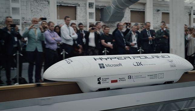 Polski Hyperloop coraz bliżej. Hyper Poland zaprezentował najnowszą technologię