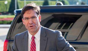 Nowy szef Pentagonu Mike Esper ma trudne zadanie ws. Iranu.