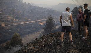 Pożary pustoszą wschód i północ Hiszpanii