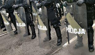 Oddziały prewencji weszły do jednego z zakładów poprawczych w Białymstoku