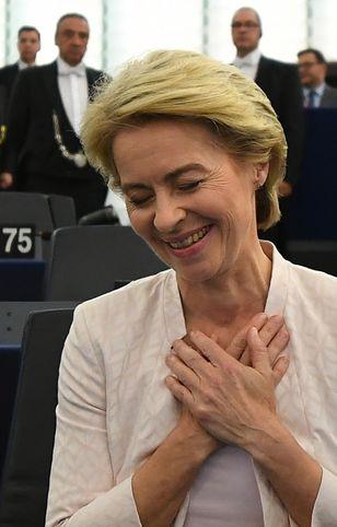 Ursula von der Leyen nową szefową KE