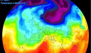 Skandynawski wyż wyśle do Polski mróz i śnieg. Animacja, nie daje nadziei na wiosnę