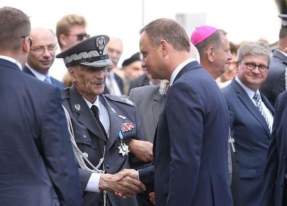 """100-letni powstaniec: """"żegnam was. Na pewno to moje ostatnie spotkanie z wami"""""""