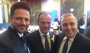 Rafał Trzaskowski, Donald Tusk, Grzegorz Schetyna