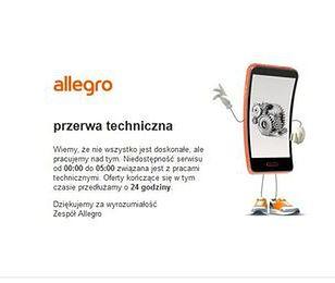 Awaria Allegro. Użytkownicy logują się nie na swoje konta