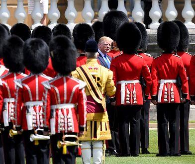 Wizyta Donalda Trumpa w Wielkiej Brytanii. Zobacz zdjęcia