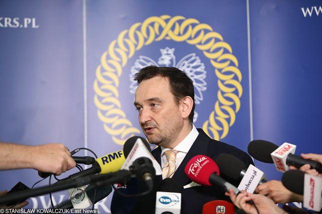 Rzecznik KRS Maciej Mitera twierdzi, że nigdy nie widział Emilii