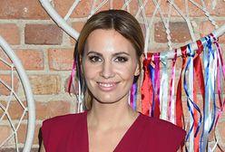 Agnieszka Hyży na pokazie kolekcji Paprocki & Brzozowski na KTW Fashion Week