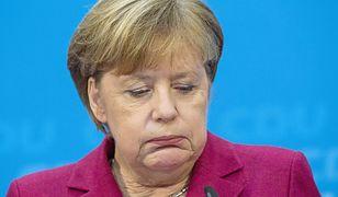 Merkel w poważnych tarapatach. Ten sondaż to dla niej katastrofa