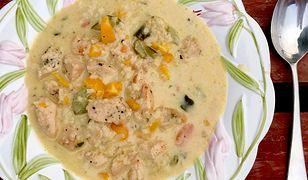 Jesienna zupa z warzyw. Rozgrzewa i syci