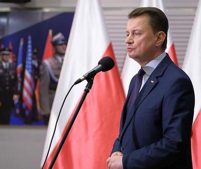 Koronawirus w Polsce. Szef MON: wojsko pomoże policji na granicach