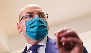 Ukraina. Minister oskarża Rosję. Poszło o szczepionki