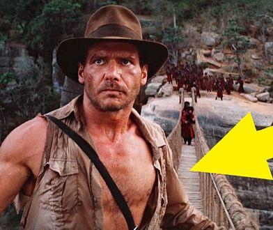 """""""Indiana Jones i Świątynia Zagłady"""" – jedna scena, mnóstwo wpadek. Jak mogli to przegapić?"""