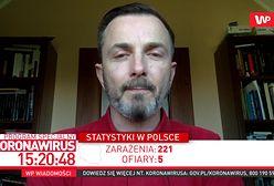 Koronawirus w Polsce. Dr Tomasz Rożek wprost: najgorsze jest dopiero przed nami
