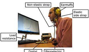 Te nauszniki produkują energię z... ruchów szczęki
